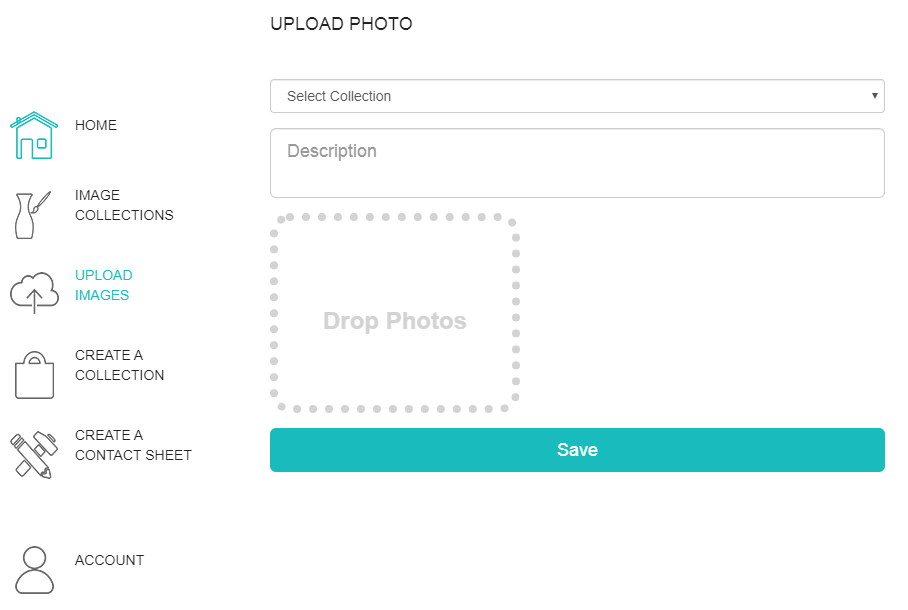 Upload Photos to Collection