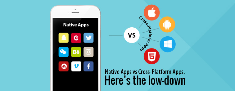 Native Apps vs Cross-Platform Apps. Here's the low-down.